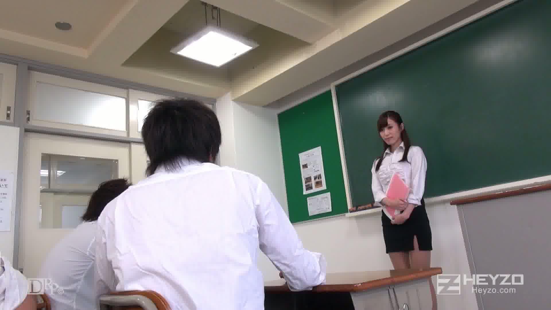 淫楽に沈む教師~新任教師の初授業~ - 瞳ゆら【指マン フェラ 顔射】