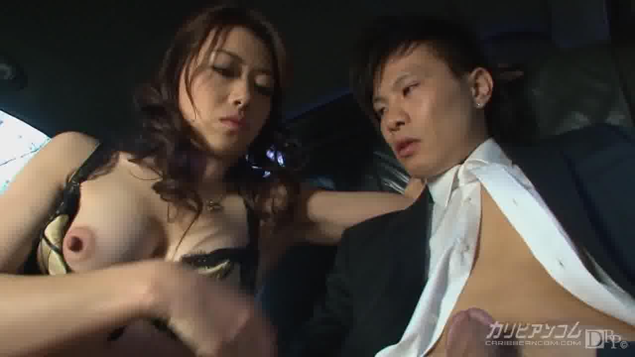 極上セレブ婦人と運転手 特別編 - 北条麻妃【痴女・巨乳・中出し】