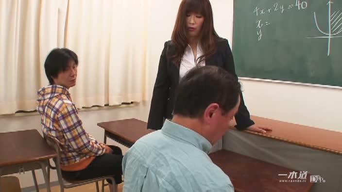 S級熟女志村玲子と補修授業【志村玲子】