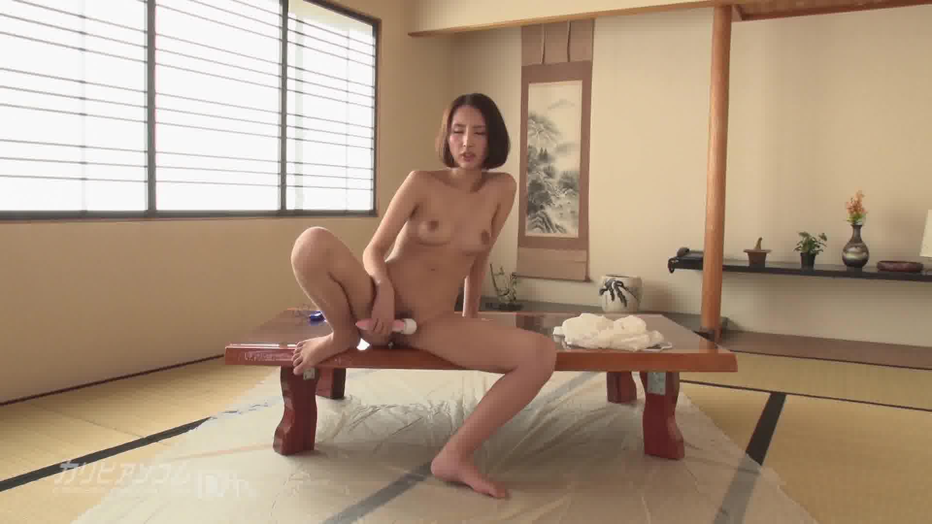 THE 未公開 ~おしっこ我慢大会~ - 七瀬リナ【バイブ・放尿・オナニー】