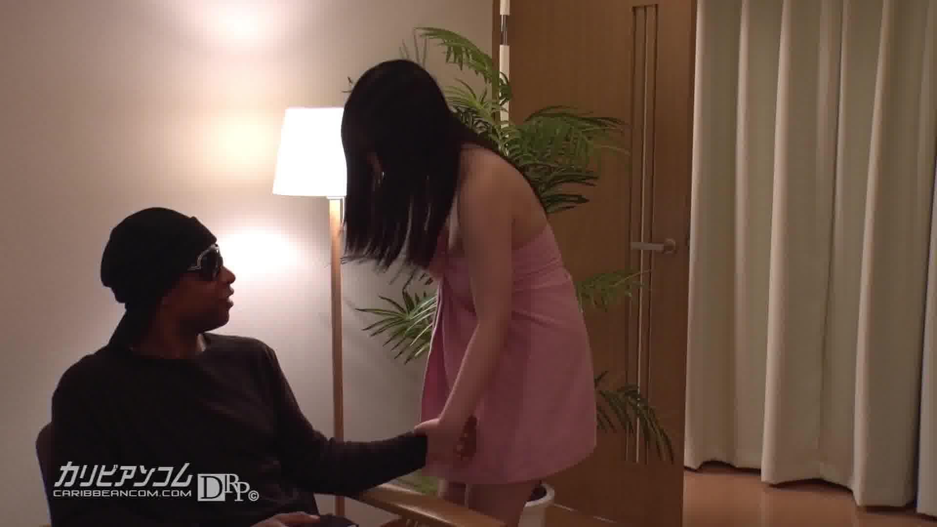 我が家にやってきた黒人さん - 永瀬里美【巨乳・パイズリ・中出し】