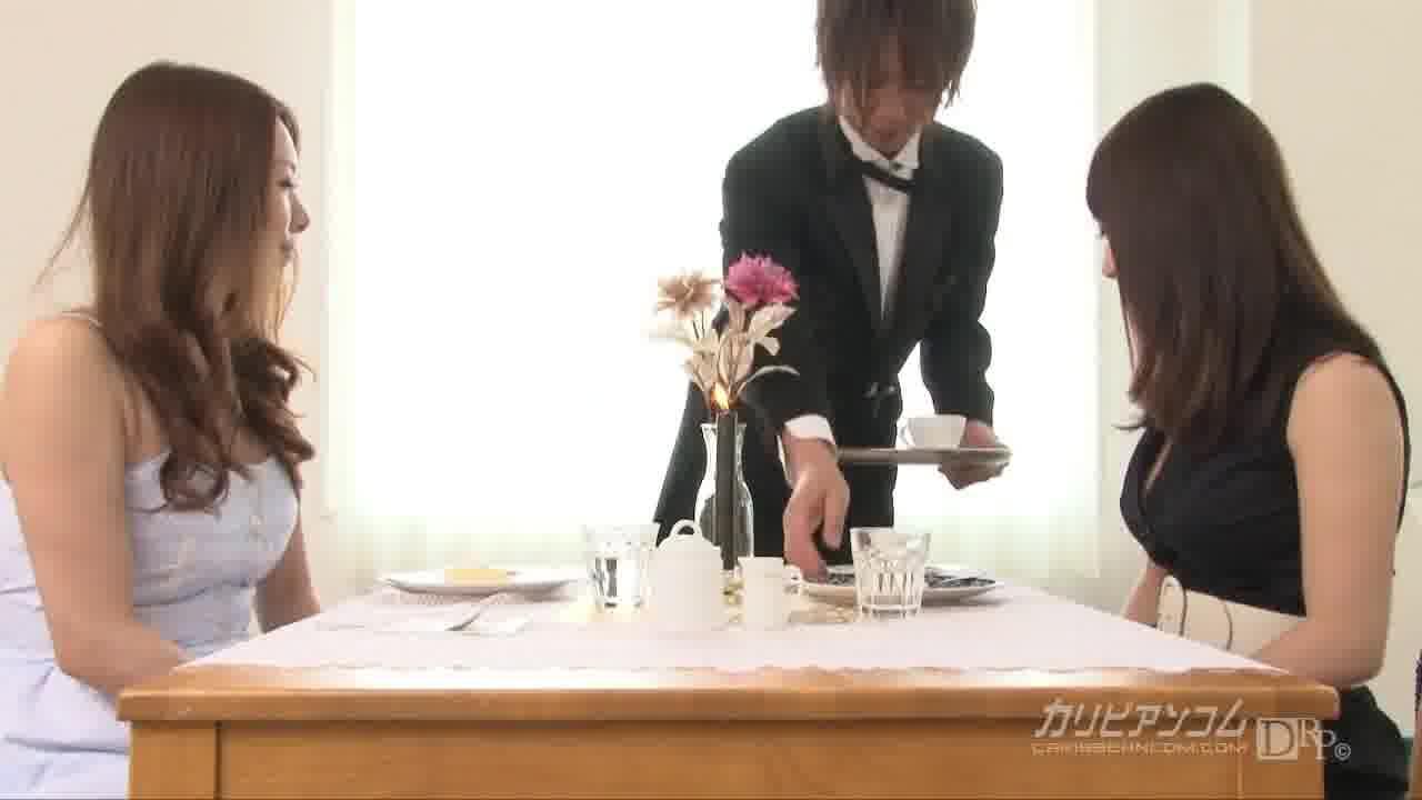 執事愛撫喫茶 第4章 - 柳田やよい【巨乳・乱交・中出し】
