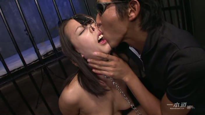 肉便器育成所 〜鼻フック緊縛二穴姦〜【柳田やよい】