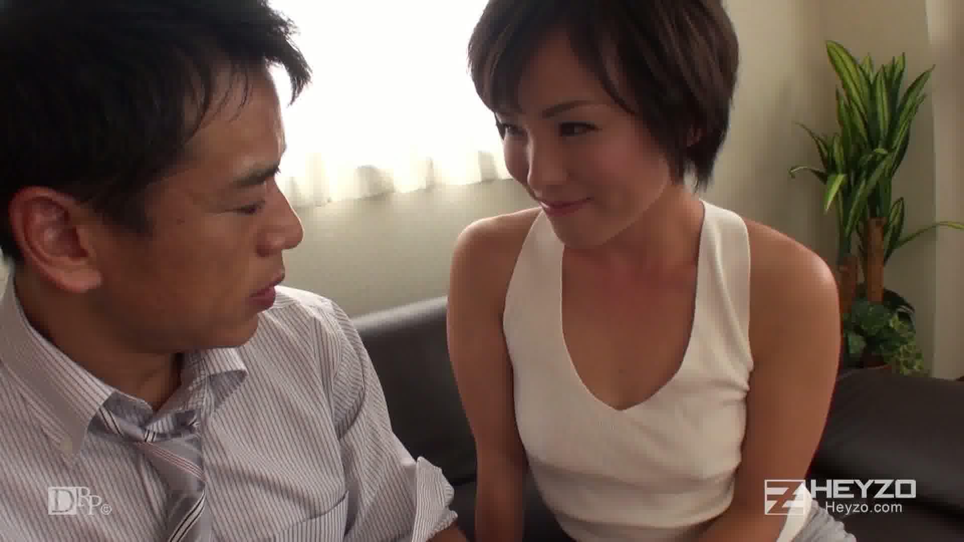 他人妻味~ノーブラ・ミニスカは悩殺アイテム~ - 蓮美【PC修理 誘惑 オナニー】