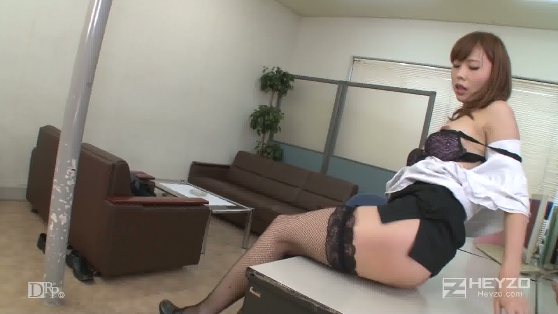 美痴女~淫語で説教する女部長の甘い囁き~ - 愛原みほ【フェラ 指マン 騎乗位 ベロチュー 立ちバック  騎乗後背位】