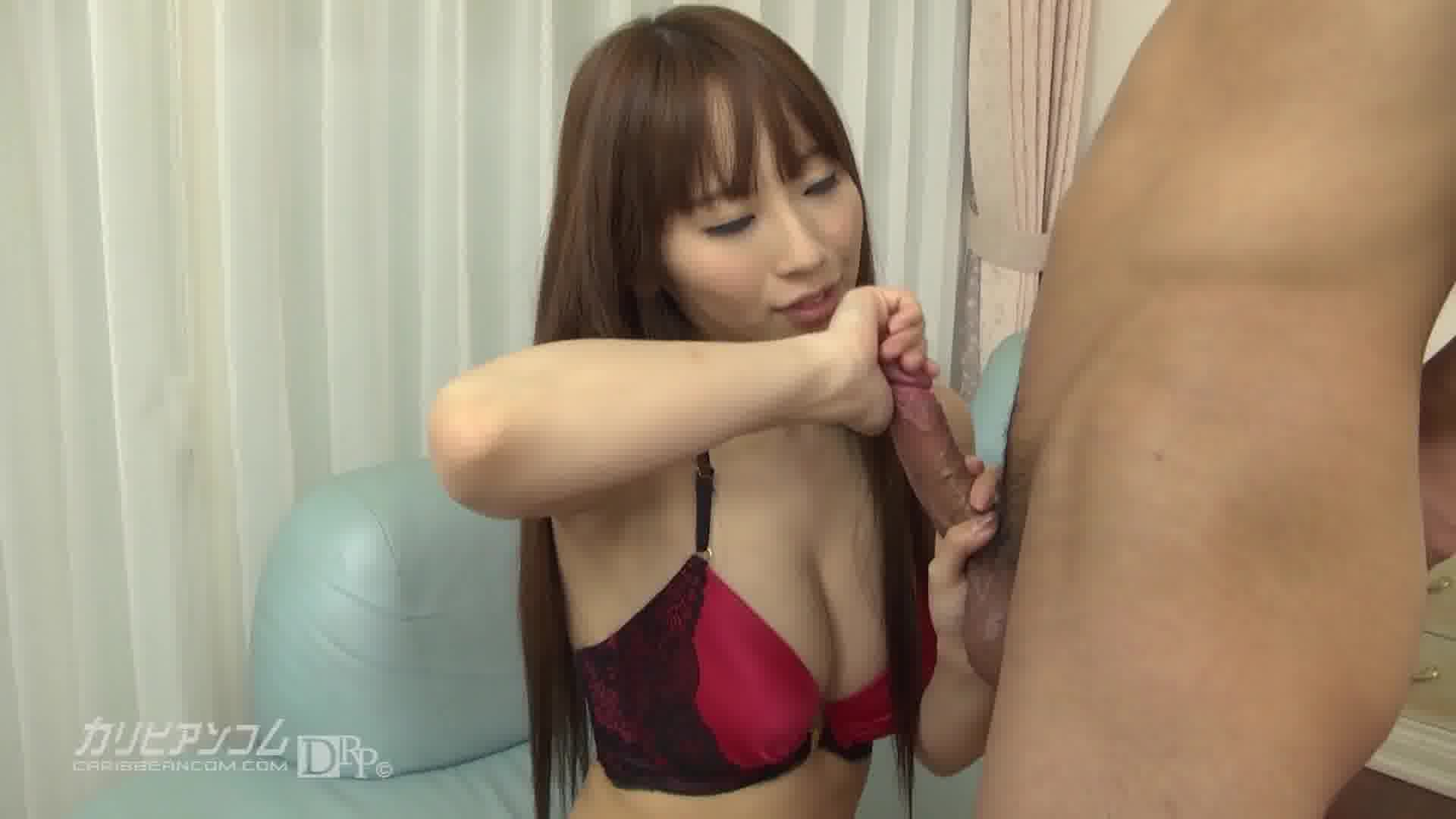 手コキパラダイス ~必殺シコシコ握り美女~ - 小泉真希【痴女・巨乳・手コキ】