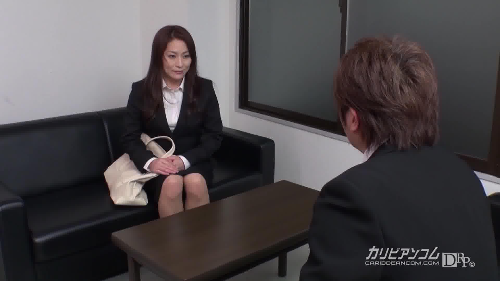 罠に堕ちた…セールスレディー - 川奈ゆり【痴女・制服・初裏】