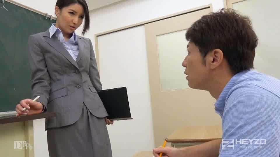 先生、お願いだからヤらせてください!! - 水咲菜々美【誘惑 フェラ抜き 】