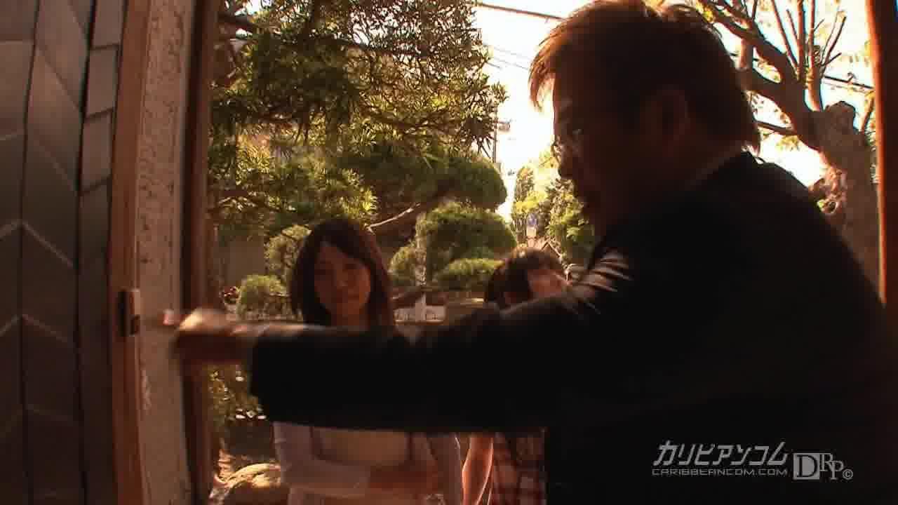 家なき娘2 前編 - 上原愛【制服・3P・中出し】