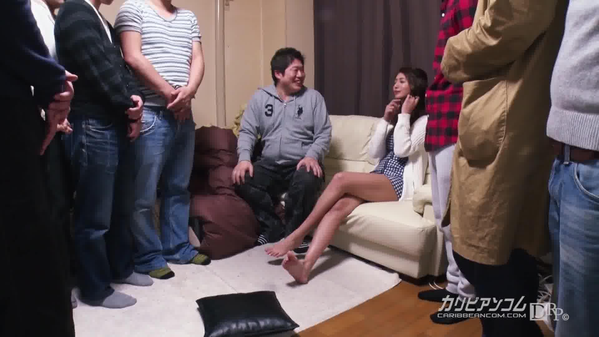 麻生希ファン感謝祭 ~10人の取り巻きとファンのお宅訪問~ - 麻生希【ギャル・乱交・巨乳】