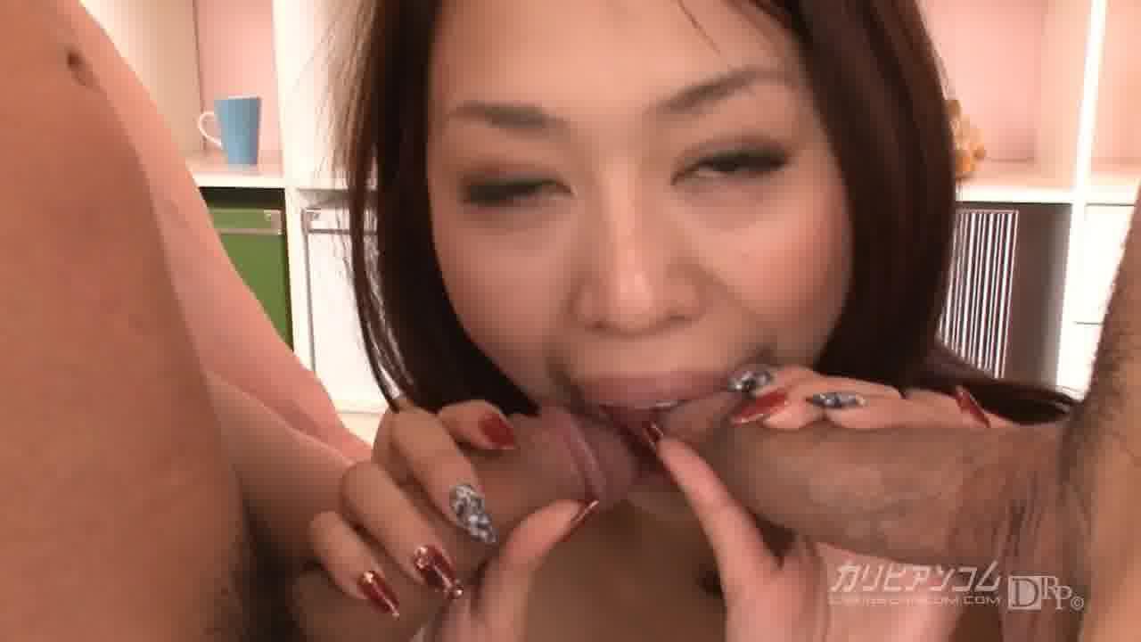 淫乱グラマーの貪り3P - 矢吹杏【痴女・3P・初裏】