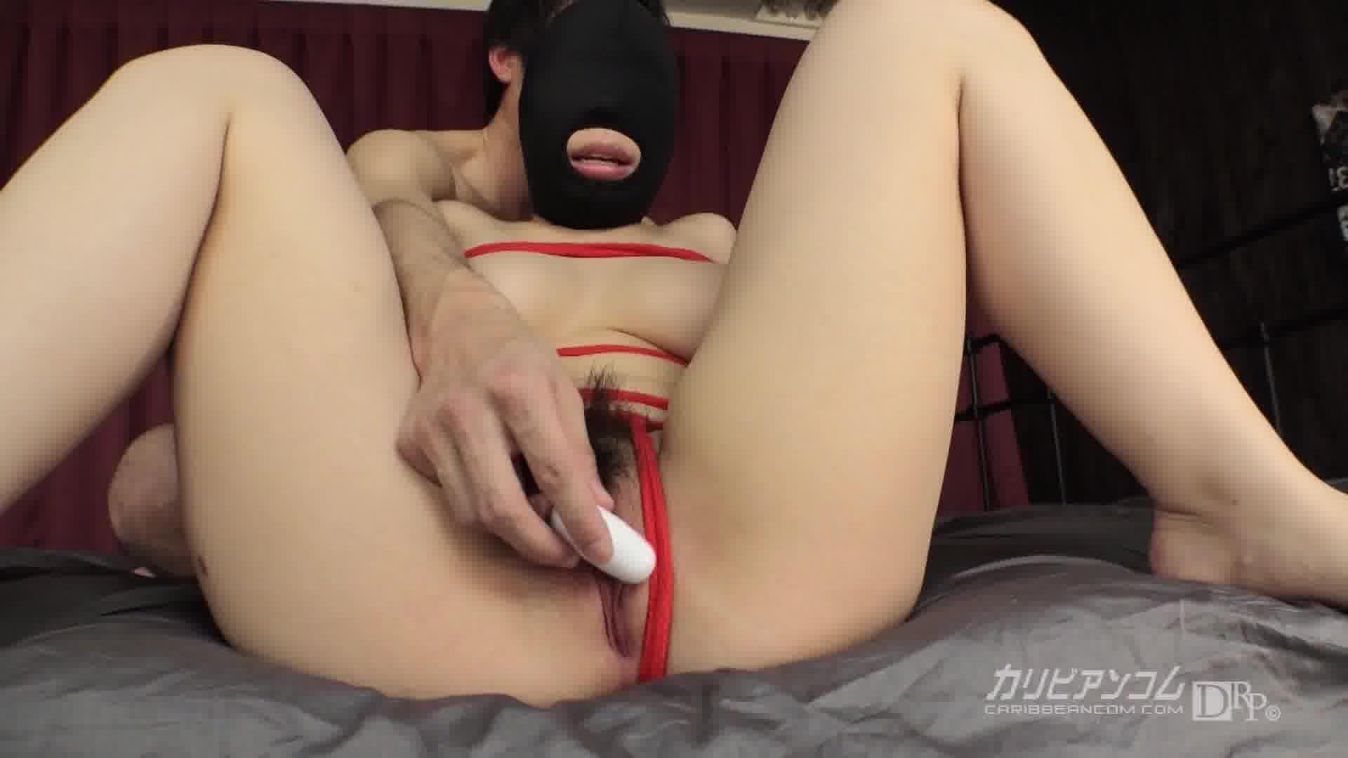 性欲処理マゾマスク ~徹底的に玩具責め~ - 性欲処理マゾマスク 01号【巨乳・美尻・潮吹き】