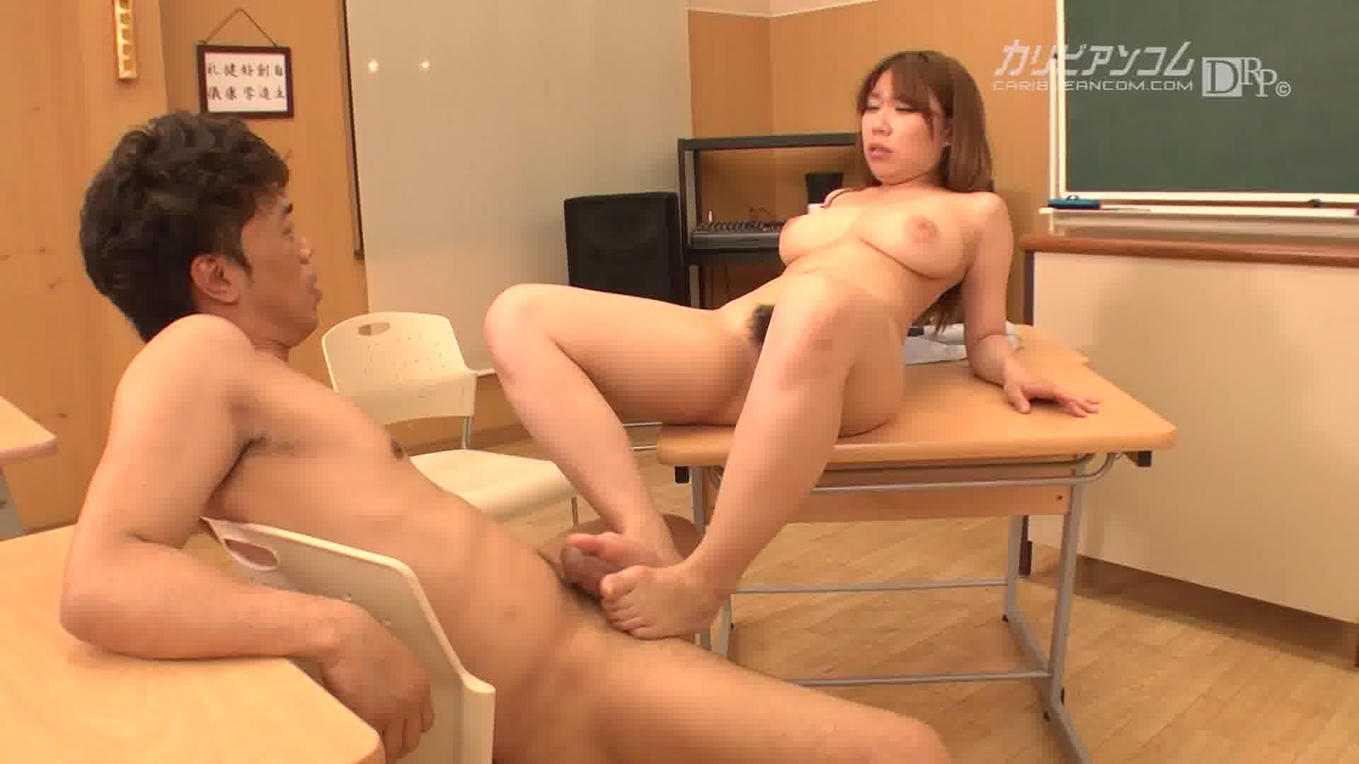 美爆乳いろは先生のHな相談 - 鈴村いろは【巨乳・女教師・パイズリ】