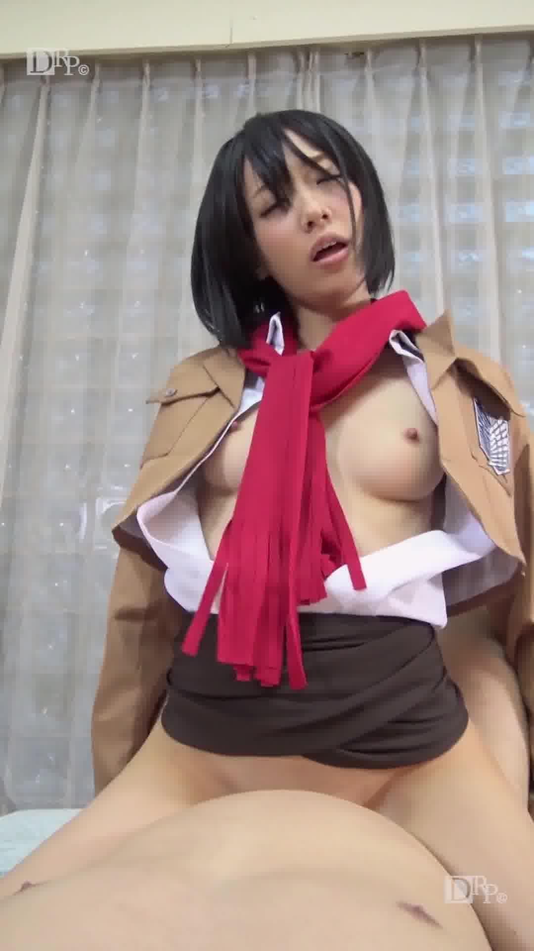 縦型動画 033 ~オフパコプライベート~ - 目々澤めぐ【ハメ撮り・コスプレ・中出し】
