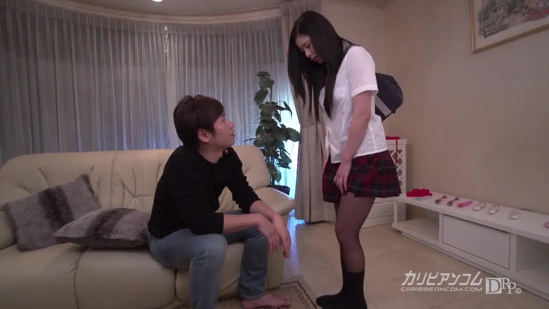 放課後に、仕込んでください ~スケベな大人の女になりたいの~ - 清水理紗【巨乳・制服・初裏】