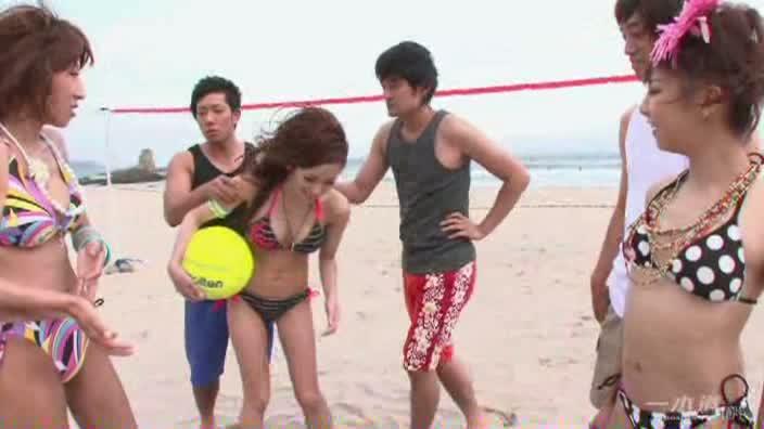 Beach Volley '09 〜かおる潮吹き姫〜【夏美はるか 七瀬愛梨 青山ひかる 石原あすか】