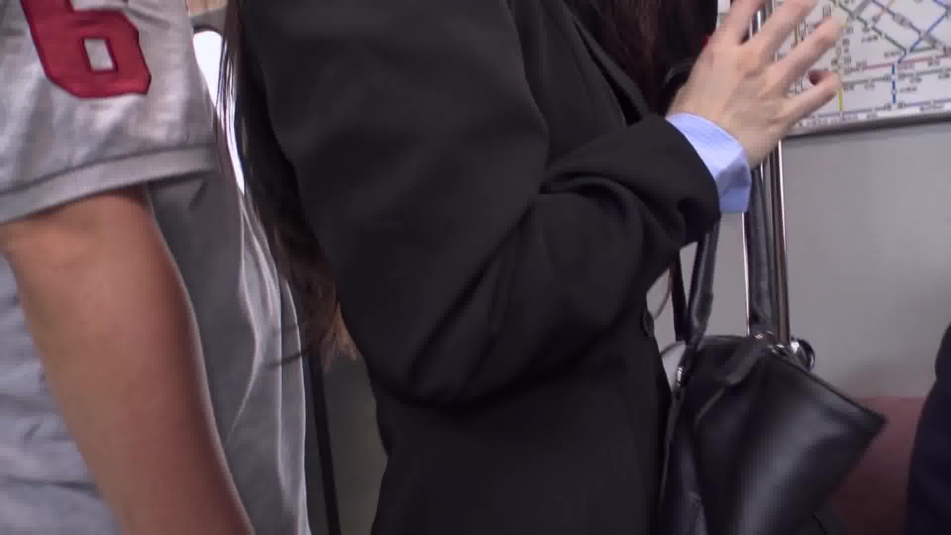 痴漢電車 ~痴漢待ちの美人OL~ - 吉岡蓮美【痴漢・OL・パイパン】