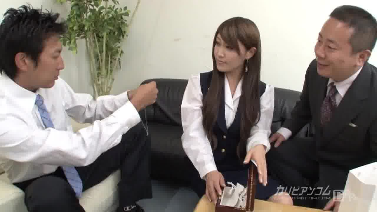 嵌められた外商部員 - 姫川きよは【巨乳・バイブ・中出し】