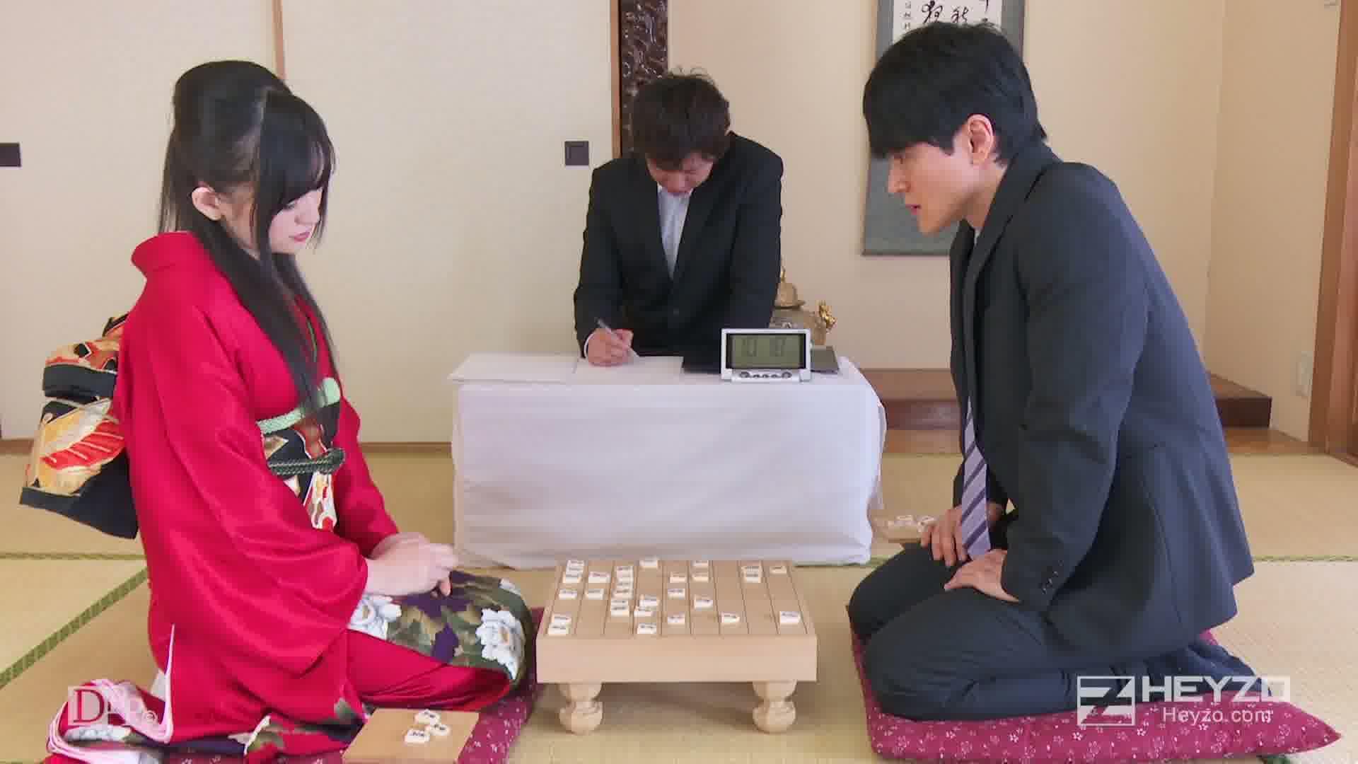 勝負に勝ったら私をアゲル!巨乳すぎる女棋士 - 小嶋ひより【おっぱい 指マン 】