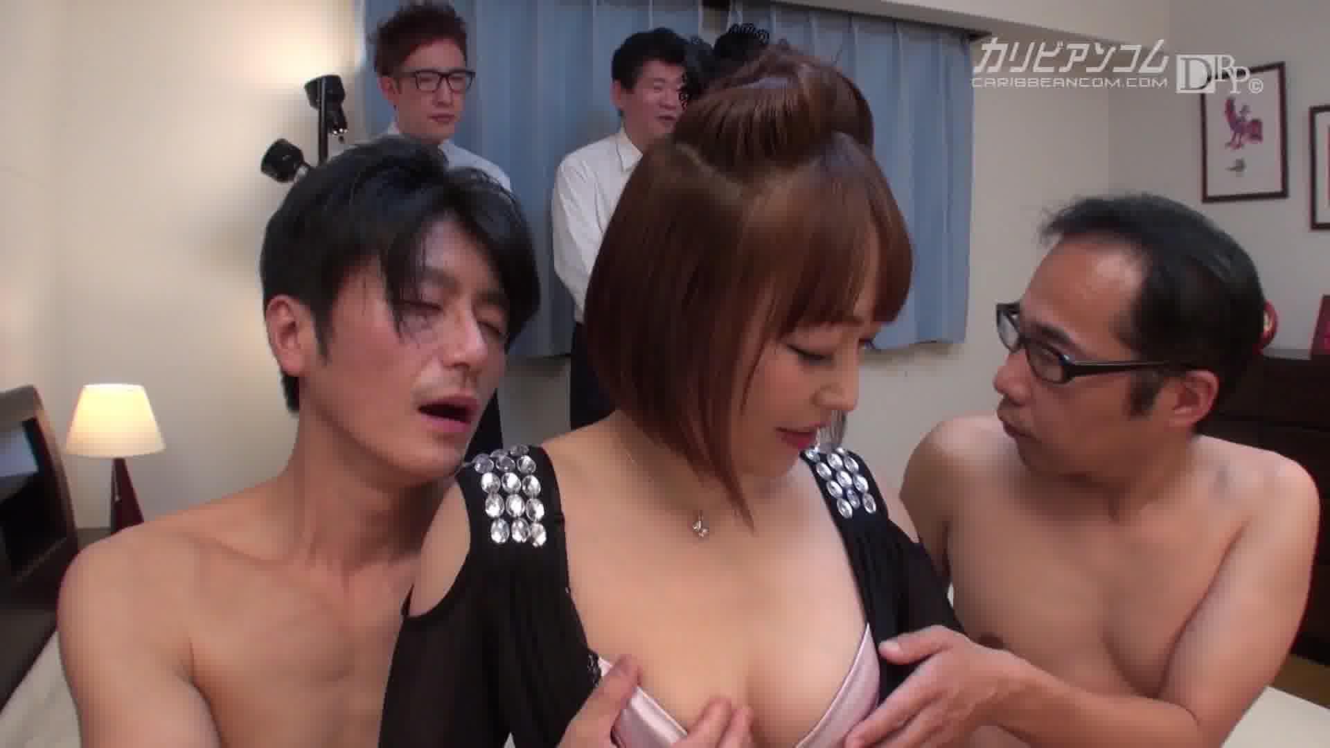ミュウ社長の痴女道育成調教 - ミュウ【痴女・乱交・隠語】