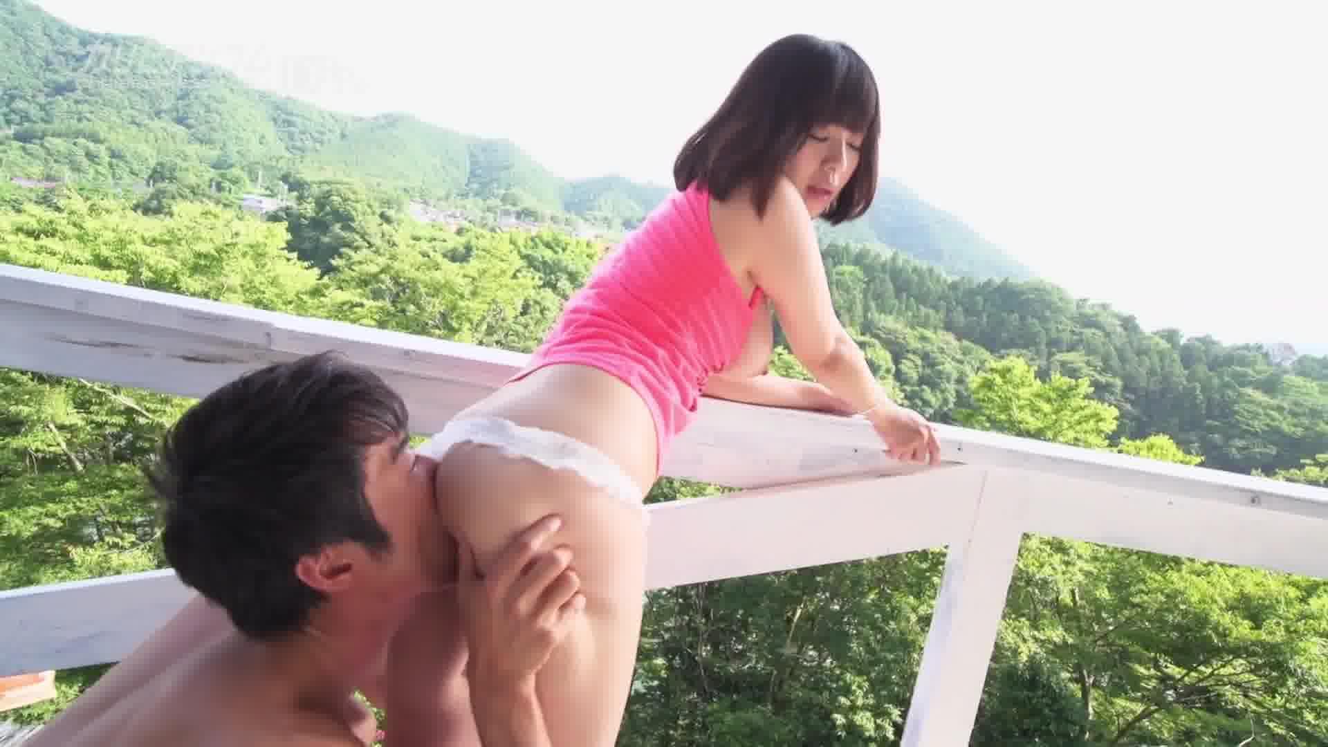 巨乳ファッションモデル青空姦 - 尾上若葉【巨乳・パイズリ・中出し】
