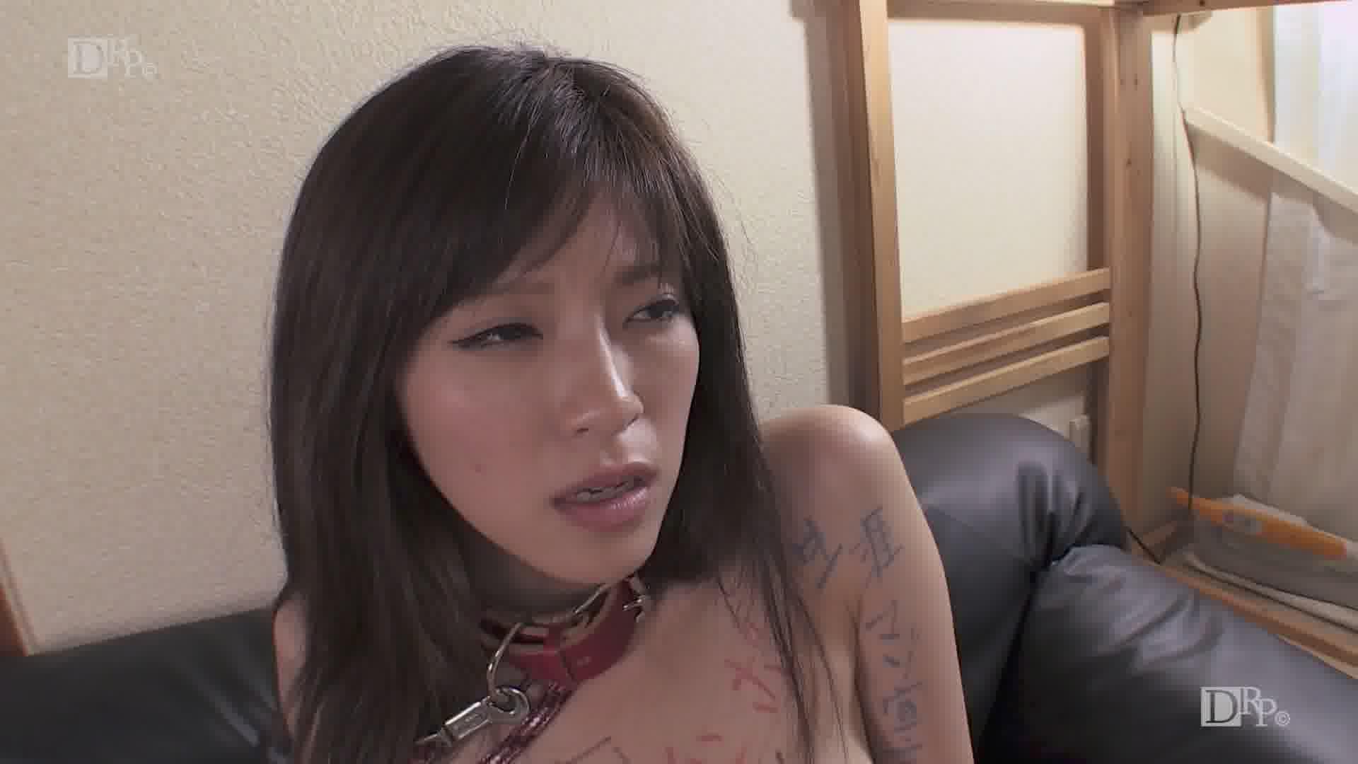 変態ペットと化した女 - 百合川さら【美乳・オナニー・3P】