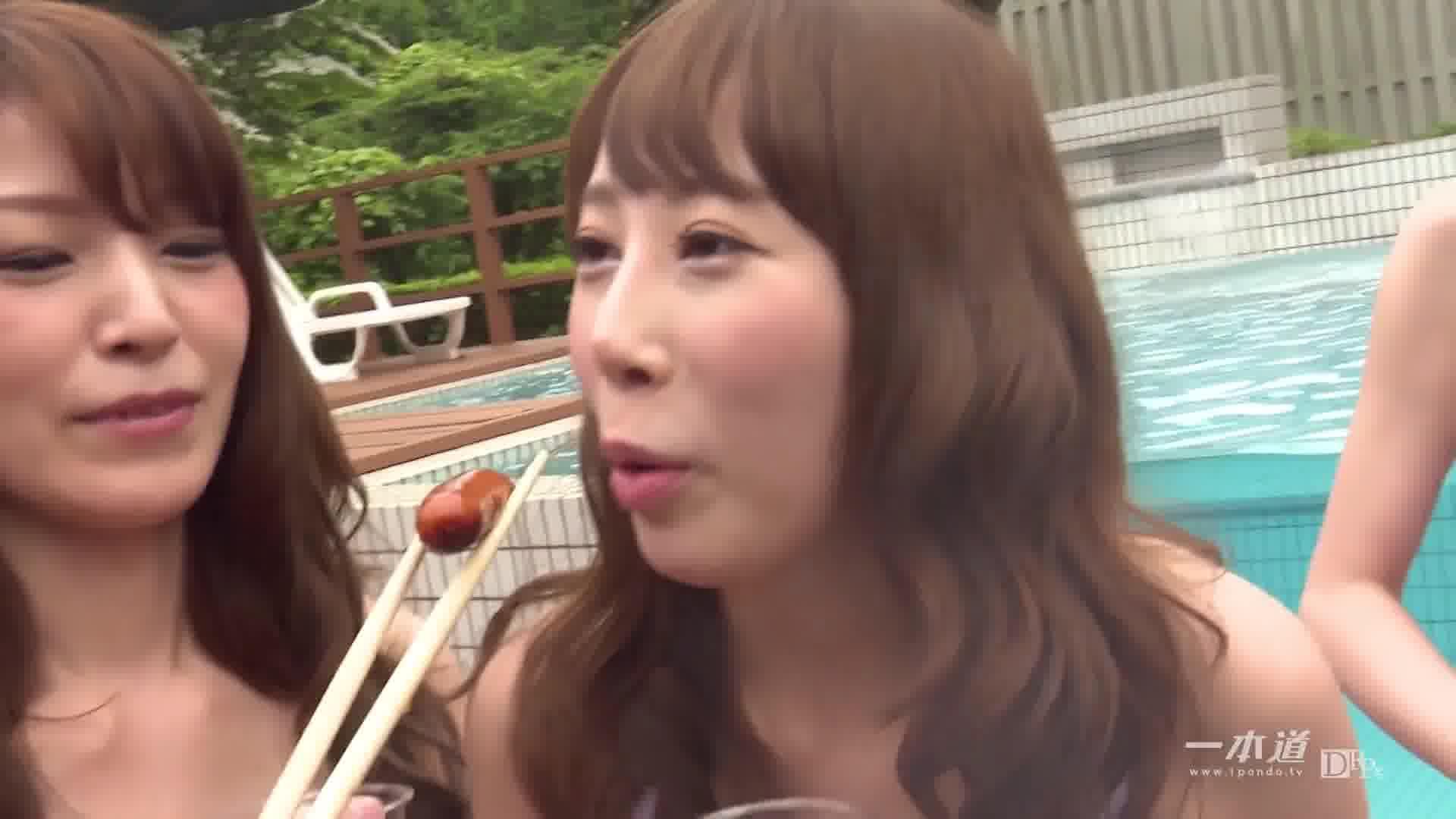 サマーヌード ~この夏、パリピ乱交!~ - 希咲あや【水着・巨乳・乱交】