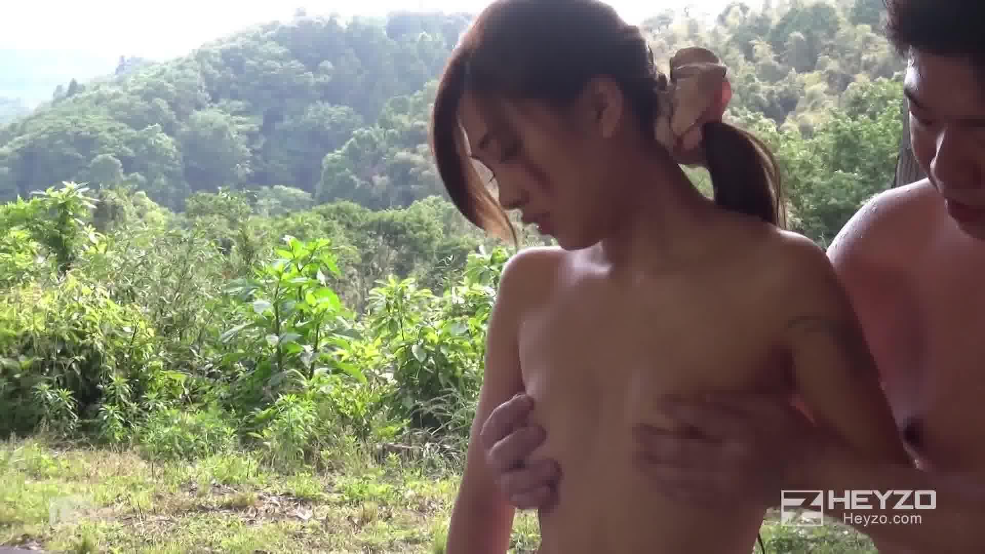 サマーヌード やりまくり浴衣デート - 堀口真希【手コキ・スレンダー・浴衣】