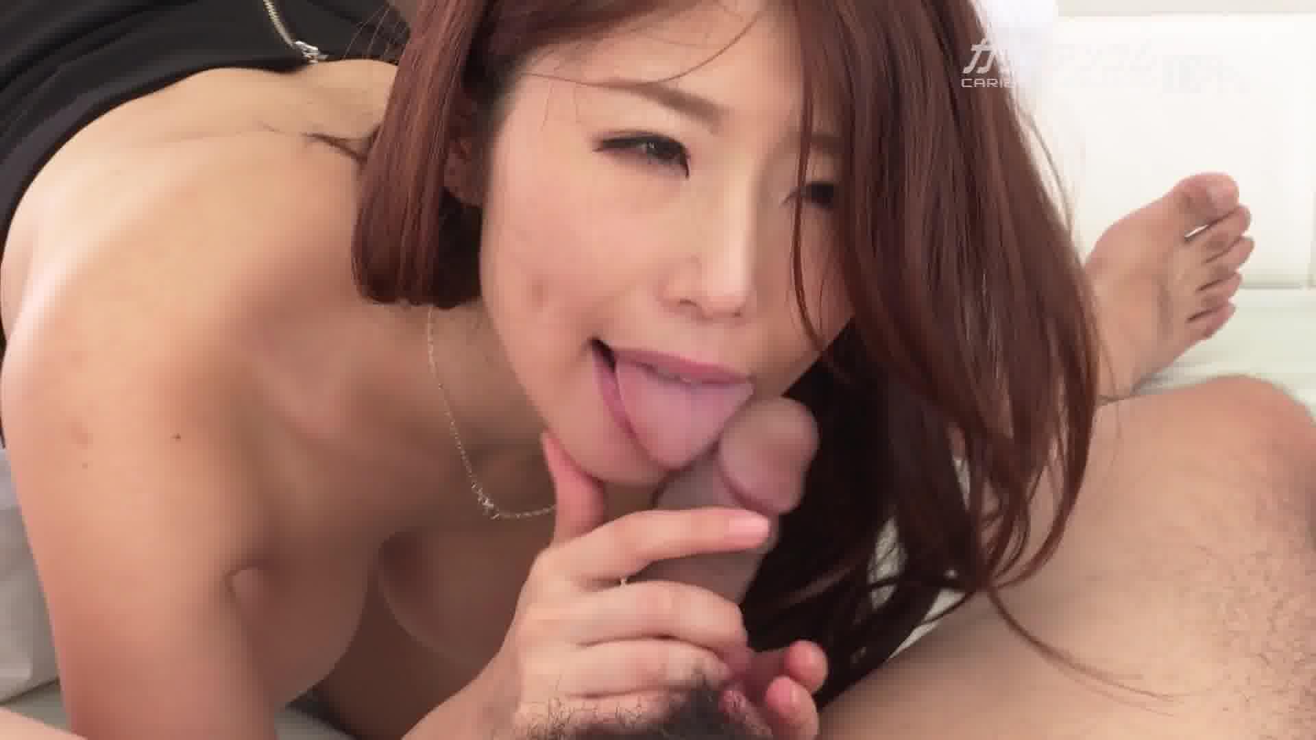 働く美女の秘密 - 篠田あゆみ【巨乳・OL・手コキ】