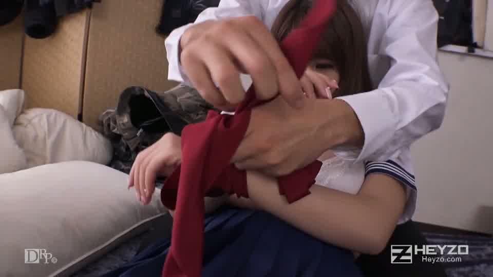 放課後美少女ファイル No.19~Fカップ癒し系娘を責める~ - 美涼りな【脱衣 乳もみ 指マン クンニ】
