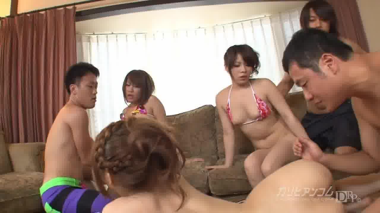 サマーガールズ2011 Vol.2 - 星野あいり【乱交・水着・中出し】