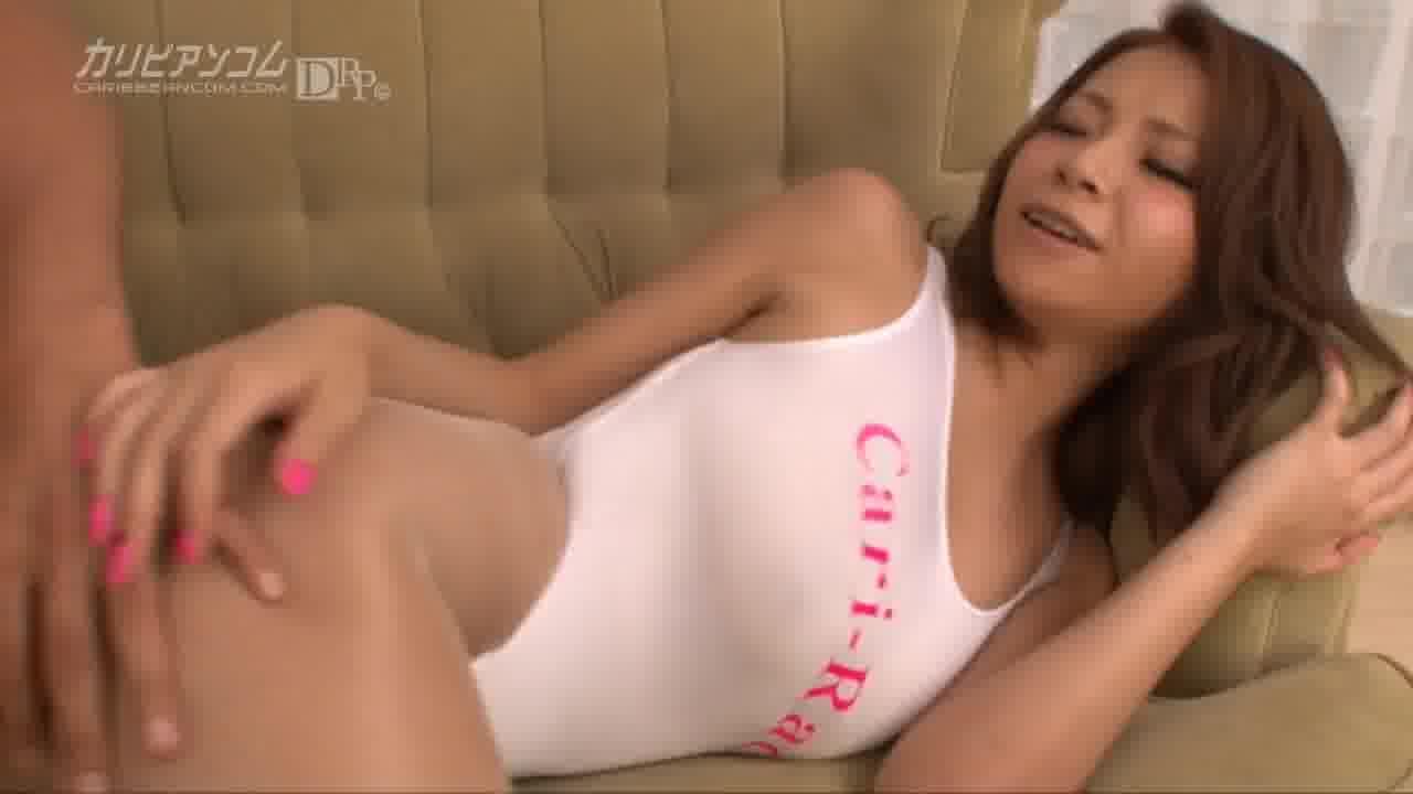 グラマラスボディ完全着衣ファック - 松すみれ【水着・巨乳・痴女】