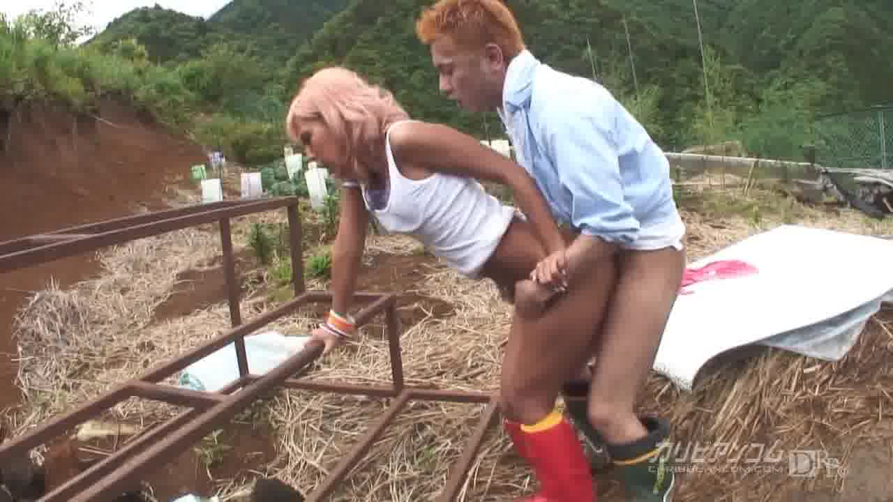 農Gal 第一話 - 尾上ライナ【ギャル・野外露出・痴女】