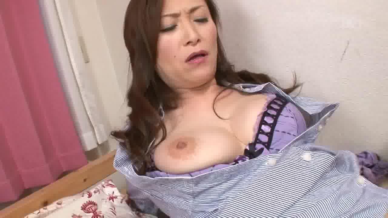 美麗熟女の誘惑 後編 - 美山蘭子【痴女・巨乳・中出し】