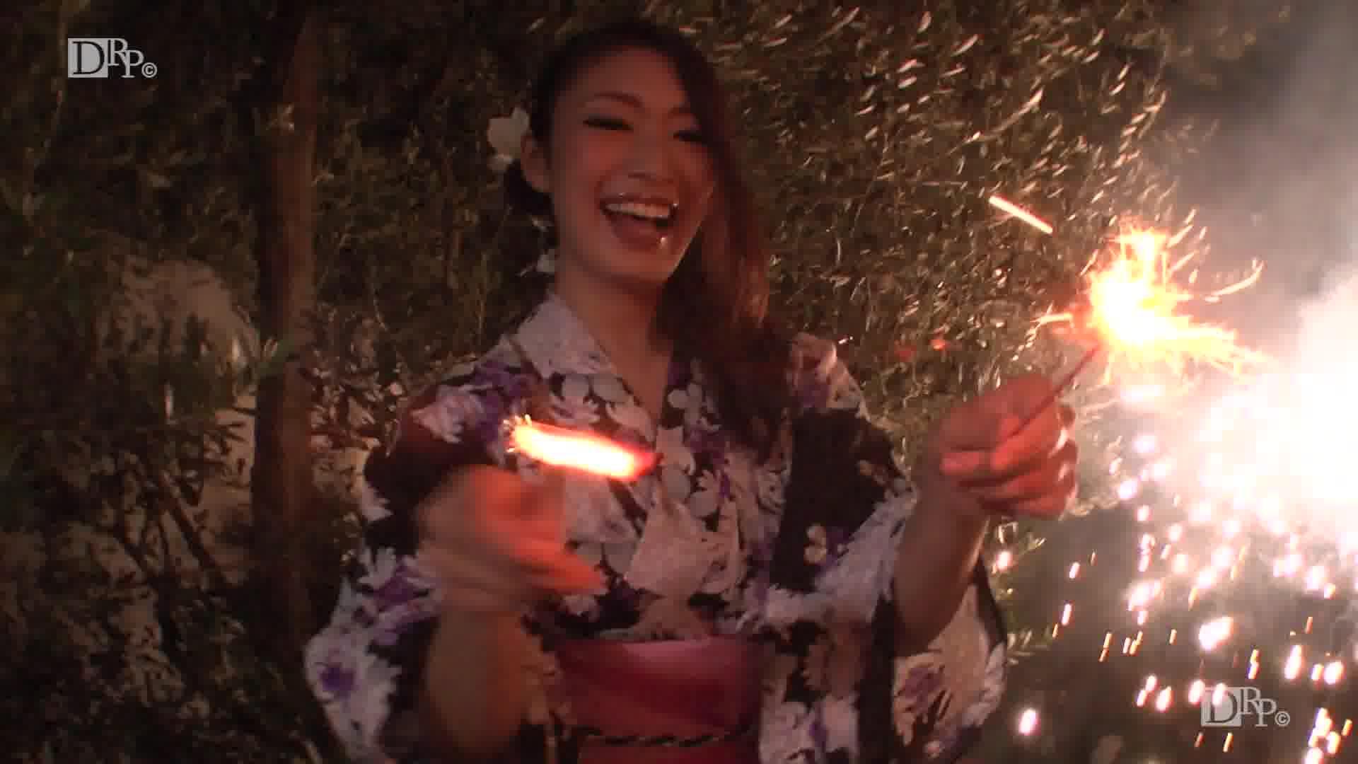 浴衣をはぎ取らせて悶える妖艶な女 - 小早川怜子【巨乳・パイズリ・3P】